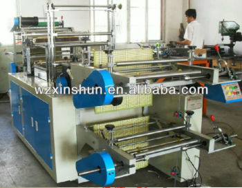 four side seal bag making machine with best design(Xinshun Brand)