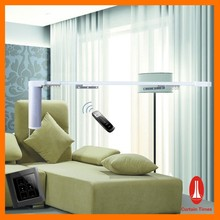 European style electric curtain for hotel project/ motorized curtain system for hotel