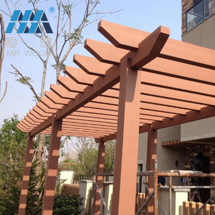 Professional Waterproof pergola covers Decorative wood pergola for outdoor