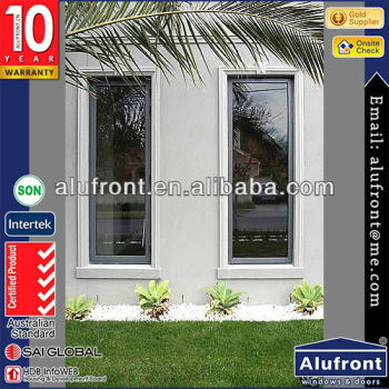 Guangzhou AF manufacturing upvc casement windows customized factory