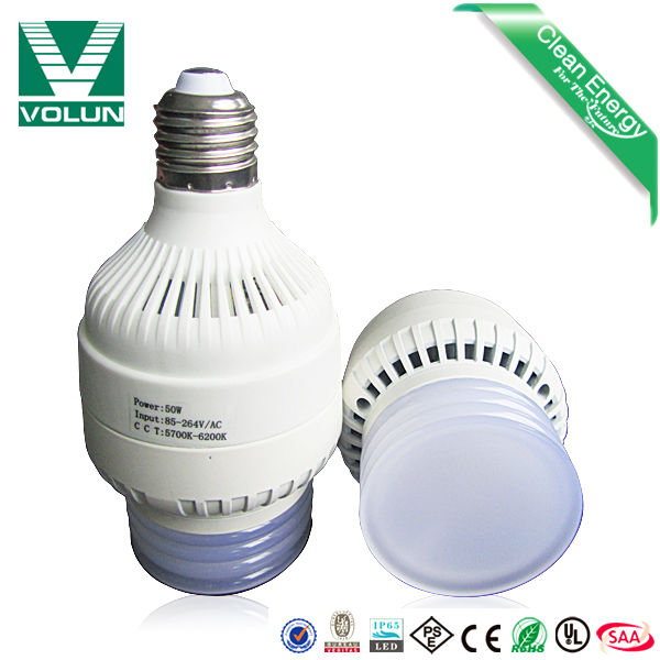 3 years warranty CE ROSH 50w led bulbs replace traditional incandescent lamp