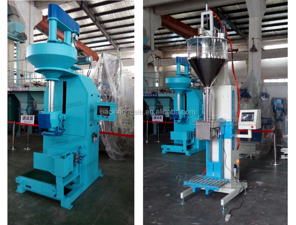 25kg bag packaging machinery for silica fume