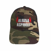 factory price camouflage mesh back sport baseball cap
