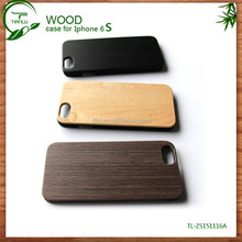 New Arrival Wood Bamboo +PC Blank Phone Case For Iphone 6s Case