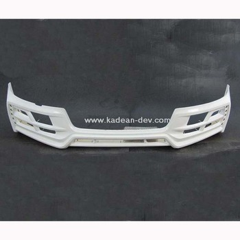 FOR 2011-2013 A5 S-LINE S5 2D/4D TOMMYKAIRA ROWEN STYLE FRONT LIP WITH LED LAMP FRP FIBER GLASS