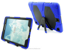 Full body shockproof tablet PC case for Samsung Galaxy Tab A 9.7 T550 child proof bumper cover