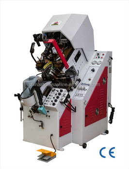 Shoe making machine Hydraulic auto-cementing toe lasting machine QF-737A