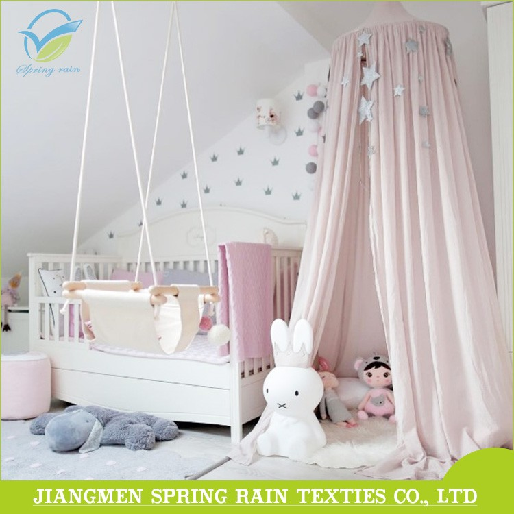 Girls Hanging Bed Canopy and Play Tent Set for Indoor or Outdoor