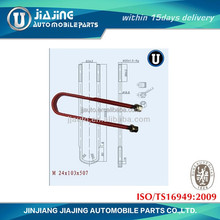 U bolt for heavy duty trailer chassis