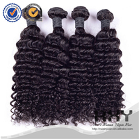 For new year deep wave 7A unprocessed 100% virgin non remy indian hair