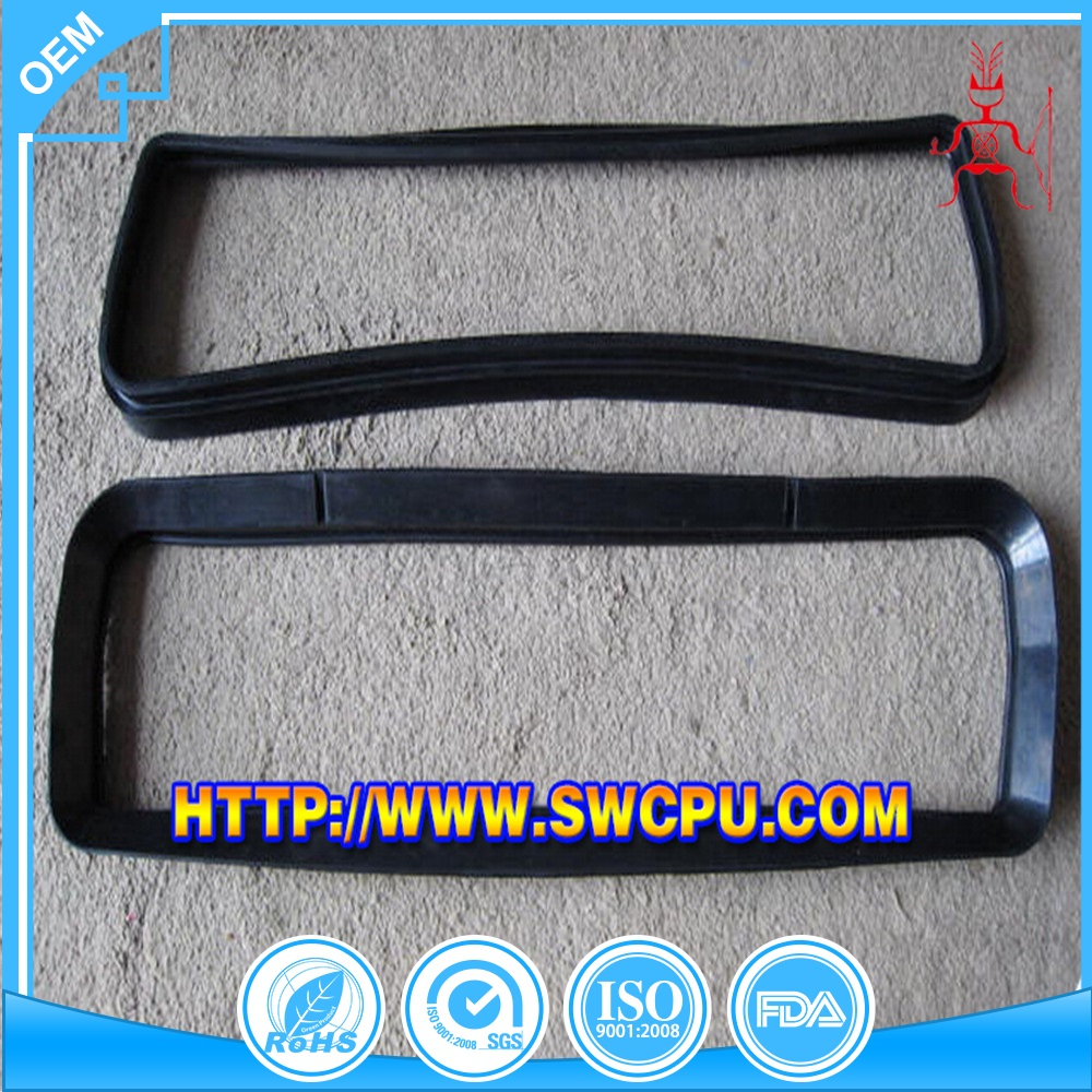 Custom stretch rubber belt with low cost