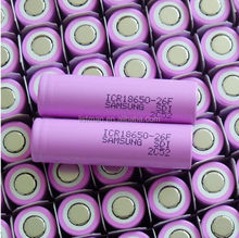 Authentic Samsung ICR18650 26F li-ion samsung 18650 rechargeable battery samsung -26f M 18650 li-ion 2600mah battery real samsun