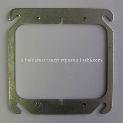 "4"" Square Steel Conduit Box Covers"