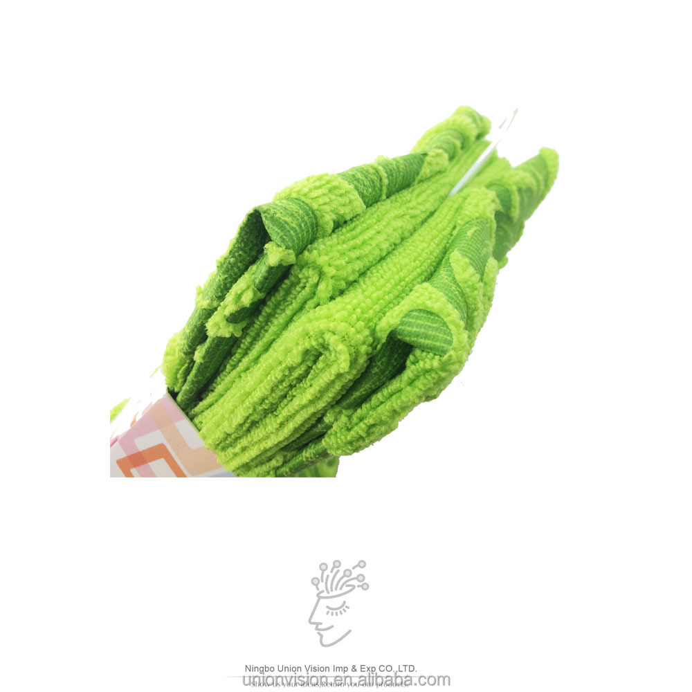 printing and plain style quick dry towel for kitchen use 4pcs microfiber towel set