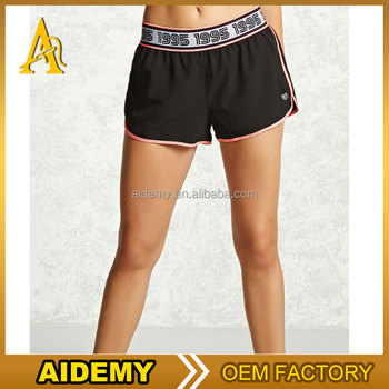 dry fit womens nylon running shorts