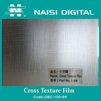 Cross texture Cold Lamination Film Roll