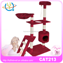 Happy pet cat tree,cat scratcher,Scratching post with corrugated cardboard material for cat