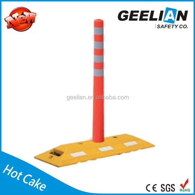 car parking pole/traffic post /traffic delineator post