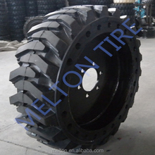 china tire factory 33x6x11 Cured on Solid tire and wheel
