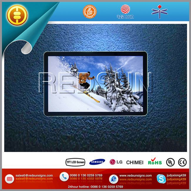Multi function touch bus stop advertising equipment
