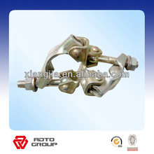 electric galvanized pressed fixed coupler,swivel clamp for connecting steel pipe