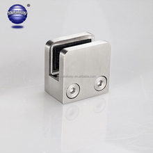 Handrail holder stainless steel glass panel clamp satin glass handrial hardware