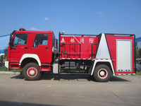 China rescue fire truck 4x4