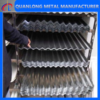 Width 600mm Metal Galvanized Sheet Roof Tile