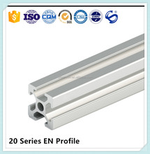 factory direct sale 6063 6061 square Industrial aluminium profile with anodized silver