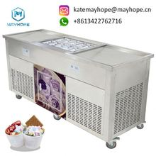 Mobile Ice Cream Cart for Sale/ Street Mexican Ice Cream Vending Cart for Sale/ Thai fry Ice cream