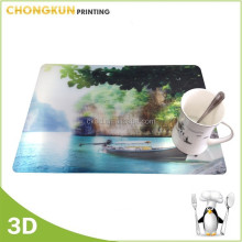 Disney supplier sale 3d Plastic lenticular placemat kitchen table mat