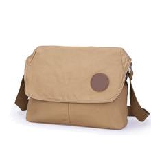 vintage bag canvas satchel for man