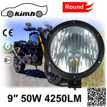 IP67 Waterproof 6000K 50W 9 Inch Spare Parts 24 watts led working light