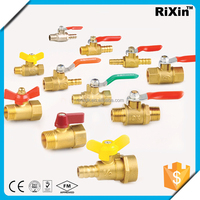 "RX 1169 3/8"" brass boiler drain valve with locknut 3/8"" thermostatic valve radiator 3/8"" excellent quality brass stop valv"