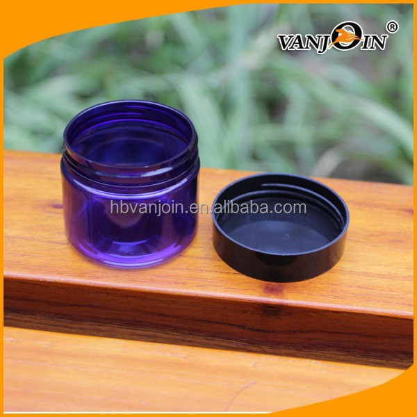 Plastic Body Material and ABS Plastic Type 50ml loose powder jar