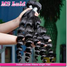 Guangzhou alibaba 12-30inch instock fast shipping virgin indian loose wave hair bundles unprocessed remy indian hair industries