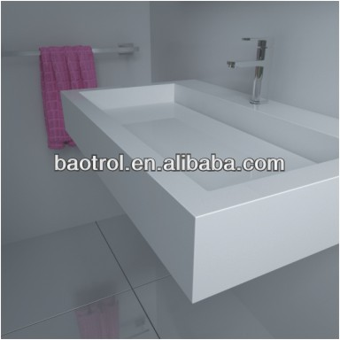 Baotrol Designer Bathroom Vanities Factory / Drop In Sink Manufacturer / Wholesale Undercounter Bathroom Sinks (S9674)