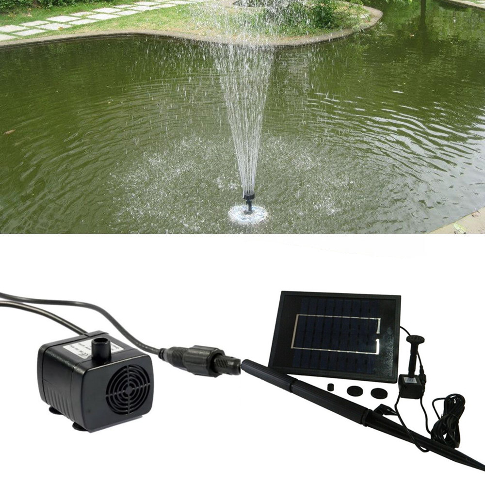 Factory direct selling solar water fountain for garden park pond
