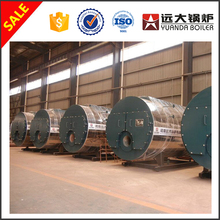 WNS Series Fire Tube 1.0Mpa Methyl Alcohol Fired 2Ton steam boiler