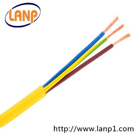1mm conductor 3 core flexible power cable