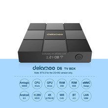 Factory price android 4.3 / 6.0 amlogic s905x d6 tv box i8 hot selling in southeast asia market