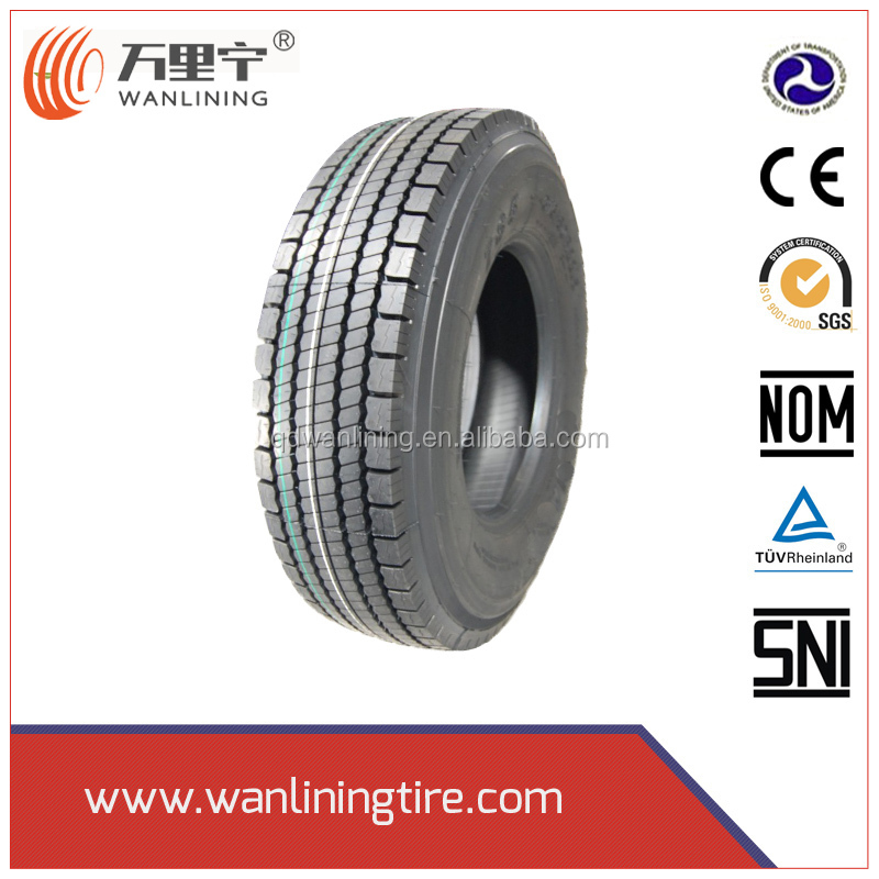 China factory wholesale cheap truck size 11r 22.5 11r24.5 truck tires for USA/Mexico with DOT,NOM,Smartway,ECE
