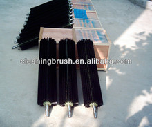 large machine rotary cylinder brushes with steel shaft