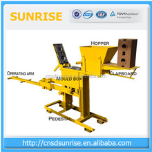 customized size easy for delivery small manual machine brique de terre