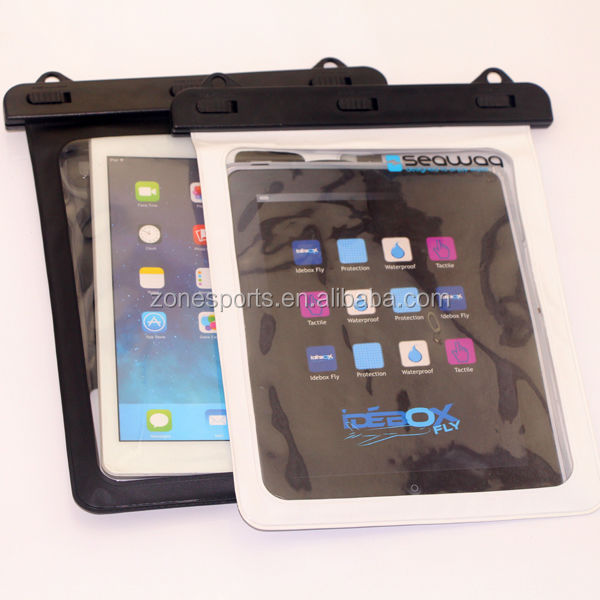 Hand Made Custom design Waterproof Case For Mini tablet,waterproof plastic beach bag