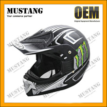 ABS Dirt Bike Helmet Vintage, Motorcycle Cross Helmet