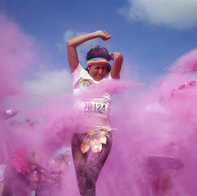 Holi Festival of Colors color run powder