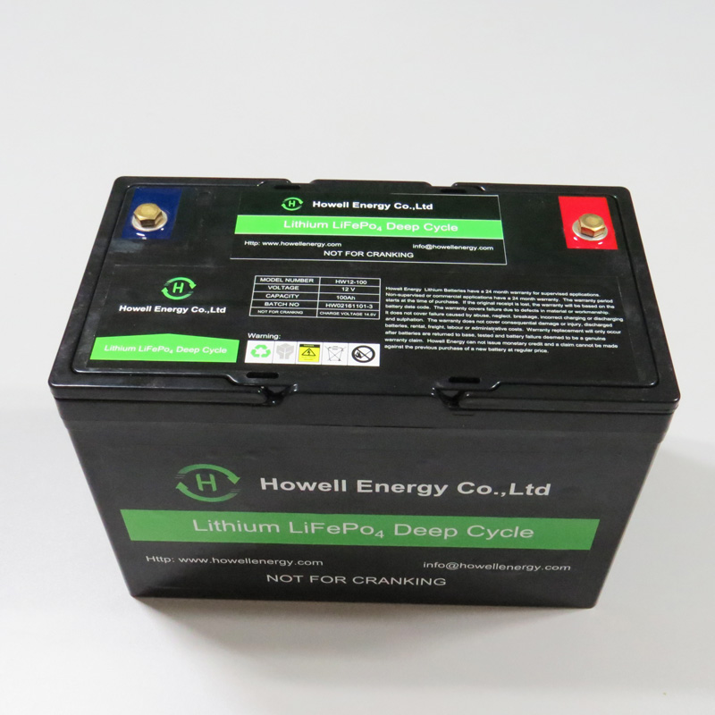 Most Popular 12V 100Ah Lithium Iron Phosphate / LiFePO4 Battery for Electrical Car