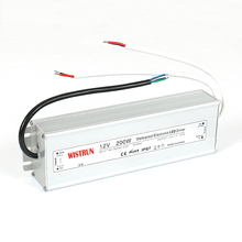 Constant voltage 200w led light driver 12v waterproof IP67 12V 200W power supply