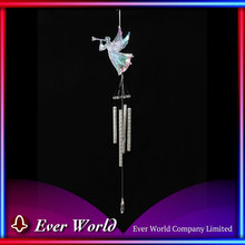 Hot Sale Acrylic/Aluminum Flying Angel w/Horn Wind Chimes for Christmas Celebration Decoration and Holiday Festival Seasons